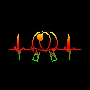 Tischtennis Puls Herz