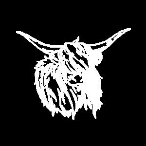 Kuh Kühe Rind Bauer Landwirt Silhouette Geschenk