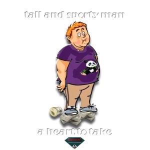 Mutagene sporty man