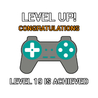 Level 19 Achieved - Level 19 Erreicht