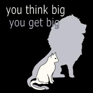 Gross, Katze, Löwe