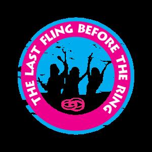 Junggessellinnenabschied Drauf machen Spruch Logo