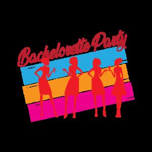 Junggessellinnenabschied Logo Trinken Team Gruppe