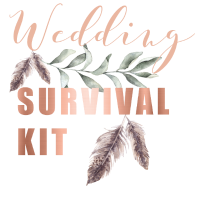 Wedding Survival Kit Notfalltasche Braut JGA