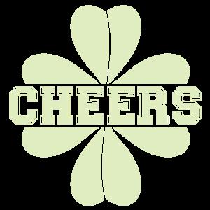 Saint Patrick's Day lucky clover Feiern Trinken