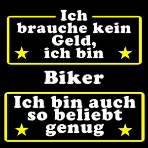 Biker beliebt genug