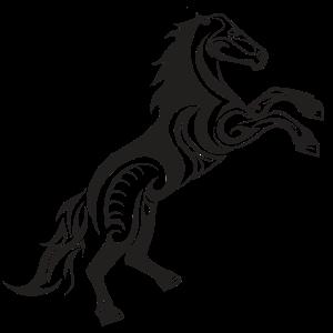 Pferd Kunst Geschenkidee