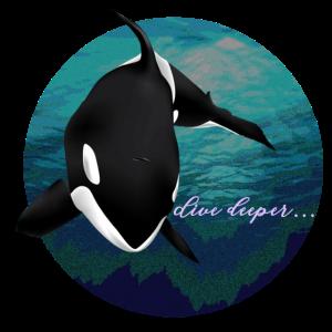 Orca Killerwal Design Geschenk