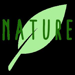 Umwelt Natur Grünes Blatt Cooles Geschenk