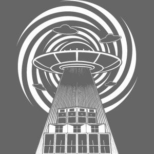 Alien Tekno 23 UFO sans cadre