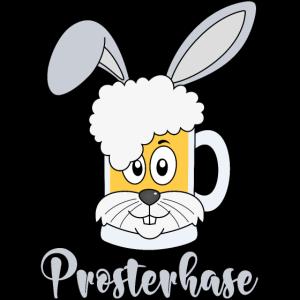 Prosterhase Osterhase Ostern Prostern Bier Prost