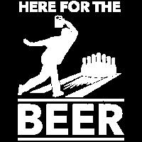 Lustiges Bier Trinken Bowling Bowler Geschenk