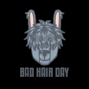 Bad Hair Day Lama - Geschenk Idee