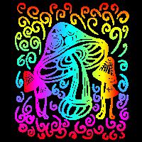 Magic Mushrooms Shirt Zauberpilze