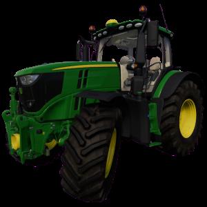 Ich fahre nur grüne Traktoren Retro Design