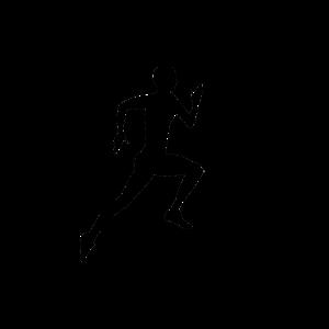 Leichtathletik Liebe Sprint Geschenk