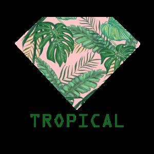 tropical blume sommer blätter hawaii geschenk