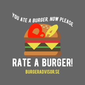 You ate a burger edition