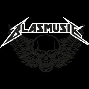 blasmusik totenkopf design