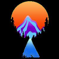 Bergspitze Gipfel Summit Mountain Fluss River
