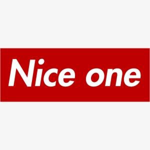 Nice one