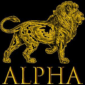 ALPHA - Lion is King