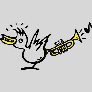 trompetenvogel