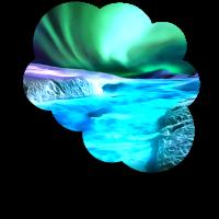 Aurora Borealis Acryl reacstd