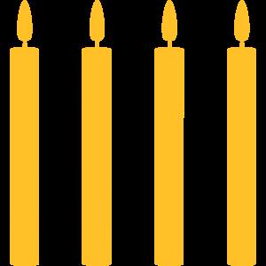 4 Kerzen //vier//vierter Geburtstag //viertes Mal