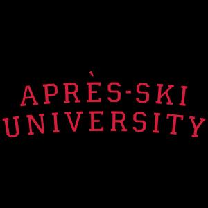 Apres Ski University (Schwarz Rot)