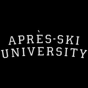 Apres Ski University (Schwarz Weiß)