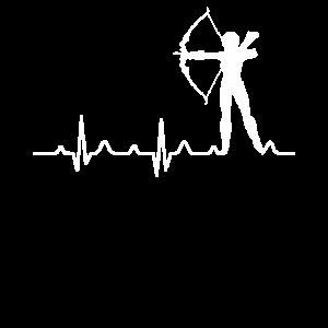 Bogenschießen T-Shirt Pfeil Bogen Armbrust Geschen