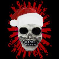 xmas skull spot