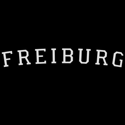 Freiburg Germany Schwarz & Weiß - Freiburg Design für Fans, Studenten, Weltenbummler und Globetrotter. - uni universität,student studenten,germany,german,freiburger,freiburg im breisgau,freiburg germany,freiburg,deutschland deutsch,campus