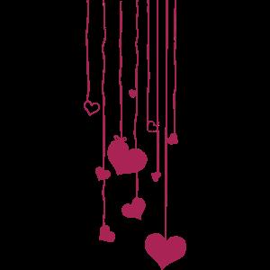 Girlande Herz