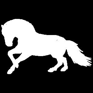 Fjordpferd Norweger Silhouette Pony Pferd Geschenk