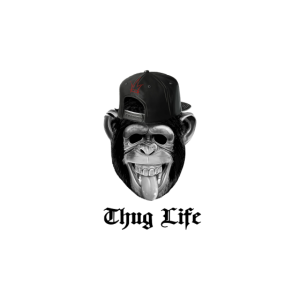 Monkey Cool life Funny Iconic Meme Design Original