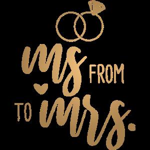 Hochzeit Junggesellenabschied - From Ms. to Mrs.