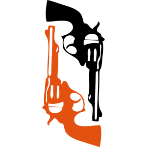 Pistole Revolver Waffe Feu1