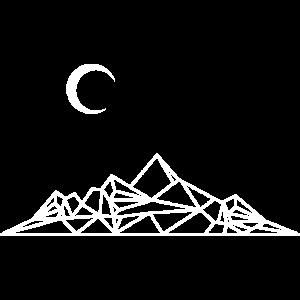 Berge Minimal Geometrie Outdoor Wandern