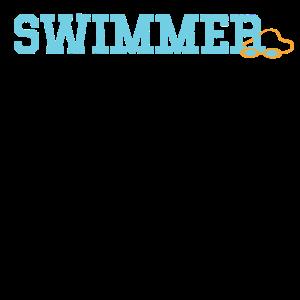 Schwimmer Taucherbrille Cooles Geschenk