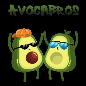 Avocabros - coole Avocado Brüder im Sommer Look