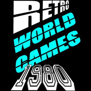 Retro Poster Computerspiele