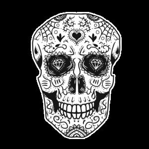 Sugar Skull Totentag Totenkopf