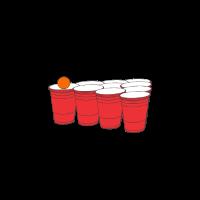 Bier Pong spielen, Beer Pong, Bier trinken,Alkohol