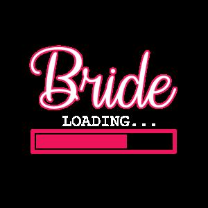 Zukünftige Braut Hochzeit