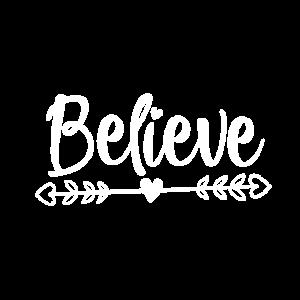 Believe Geschenk Glauben Glaube Kirche Gott