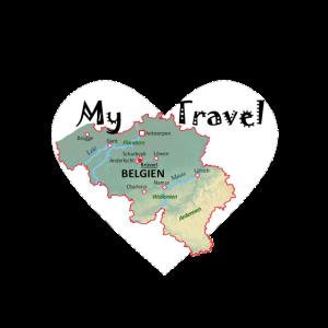 travel to Belgium , Meine Reise nach Belgien
