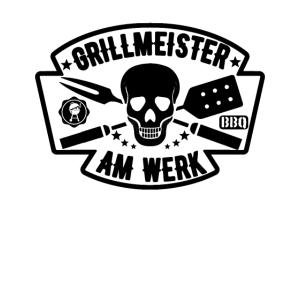 Grillmeister Am Werk - BBQ Shirt