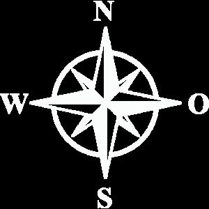 Kompass Windrose Schiff Boot Trekking Outdoor Idee